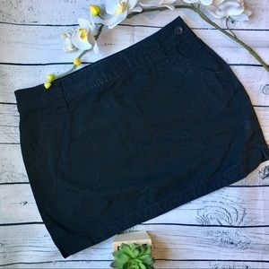 Old navy black mini skirt